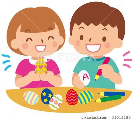 부활절 달걀 만들기 31013189