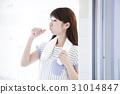 female, lady, woman 31014847