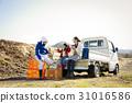 父母和小孩 親子 農民 31016586