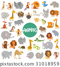 cartoon animal characters big set 31018959