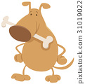dog, animal, cartoon 31019022
