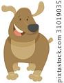 funny dog pet cartoon 31019035