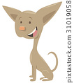 chihuahua dog cartoon character 31019058