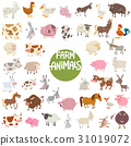 farm animal characters big set 31019072