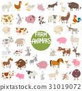 animals set farm 31019072