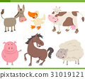 farm animals collection 31019121