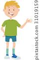 cartoon teen boy 31019159