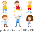 cute cartoon children set 31019191