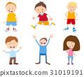 cute cartoon children set 31019191