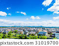 주택가 푸른 하늘 31019700