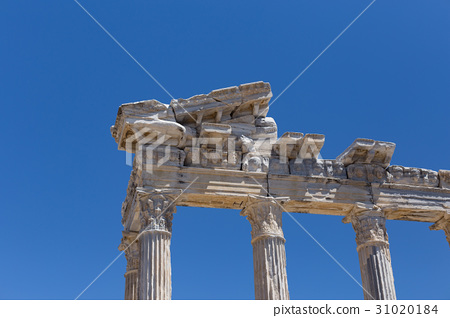 Temple of Apollo in ancient Side in Turkey 31020184