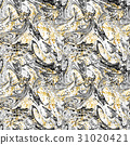 Ebru seamless pattern 31020421