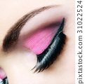 Eye close up with beautiful make-up 31022524