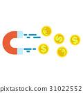 錢 錢幣 磁鐵 31022552