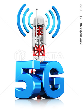 5G wireless communication technology concept 31025068