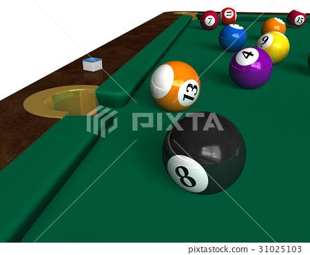 Billiard table 31025103