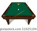 Billiard table 31025104