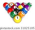 Billiard balls 31025105