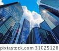 Modern business buildings 31025128