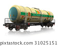 Chemical railroad tank car 31025151