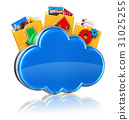 雲端 雲彩 雲 31025255