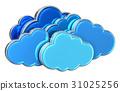 雲端 雲彩 雲 31025256