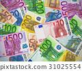 Heap of Euro banknotes 31025554