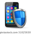 Mobile security and antivirus protection concept 31025630