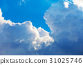 Scenic blue sky with clouds 31025746