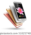 Modern touchscreen smartphones 31025748
