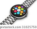 Stainless steel luxury smartwatch 31025750