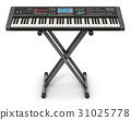 Professional musical synthesizer on stand 31025778