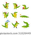 crocodile, alligator, vector 31026449