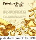 pasta, italian, sketch 31026898