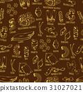 pasta pattern vector 31027021