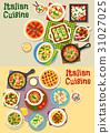italian cuisine pasta 31027025