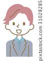 남성 【심플 캐릭터 시리즈] 31028285
