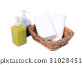 Body care set with towel. 31028451