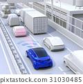 高速公路 交通堵塞 堵塞 31030485