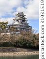 오카야마 성 - 수면에 빛나는 칠흑의 성 - 31031519