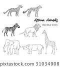 向量 向量圖 動物 31034908