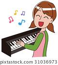 鋼琴 人 人物 31036973