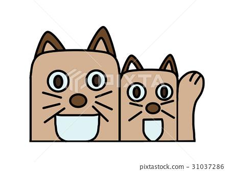 Cat's illustration 31037286