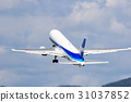 飞机 起飞 脱下 31037852