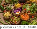 沙拉各種各樣的菜沙拉 31038486