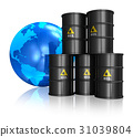 Oil trading concept 31039804