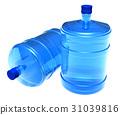 Set of big bottles of water 31039816