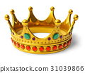 Golden royal crown 31039866