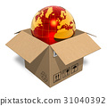 earth, globe, box 31040392
