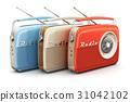 Vintage radios 31042102